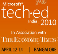 """Speaking at TechEd 2010 on """"How to Select the Right Chart for your Data"""""""
