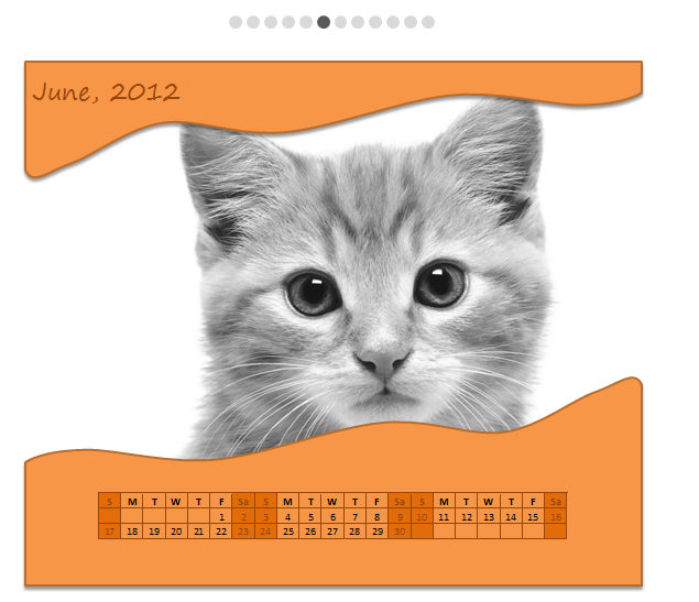 Free Picture Calendar Template – Download and make a personalized calendar today!