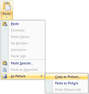 copy as picture excel2007