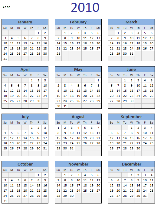 Calendar Sheet Excel : Free calendar download and print year