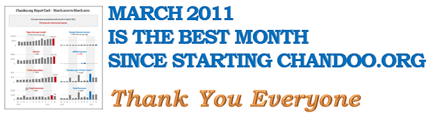 March 2011 is best month ever and other news