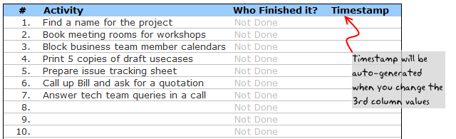 This Task Template Could Be Used For A Broad Range Of Applications – Microsoft to Do List Template for Word