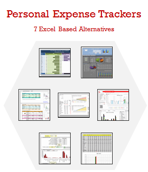 7 Personal Expense Trackers using Excel – Download Today