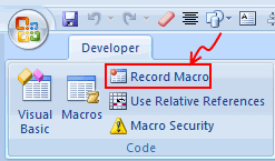 Recording a Macro using Excel Macro Recorder - Crash Course in Excel VBA