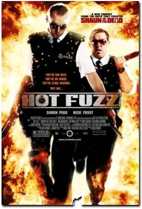 hot fuzz comedy movie review