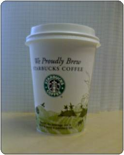 starbuck coffee cups