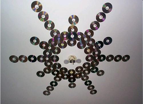 cd-dvd-ceiling-decor