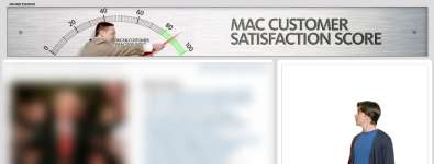 The new Mac vs. PC web ad by Apple is really cool