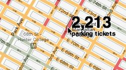 Parking Tickets in New York – Cool Interactive Visualization from NYTimes