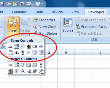 Excel form controls - adding interactivity to your dashboards