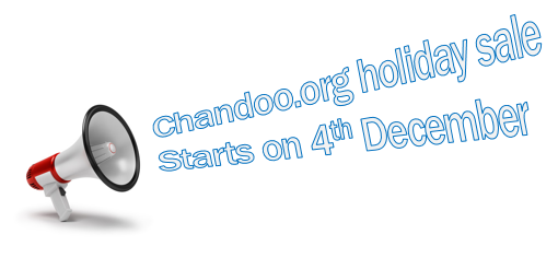 Chandoo.org Holiday SALE, Starts on Wednesday – 4thDecember!