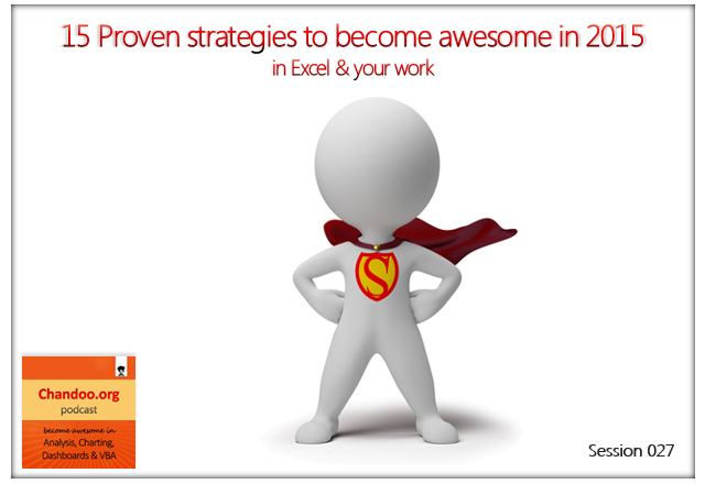 CP027: 15 proven strategies to be awesome in 2015