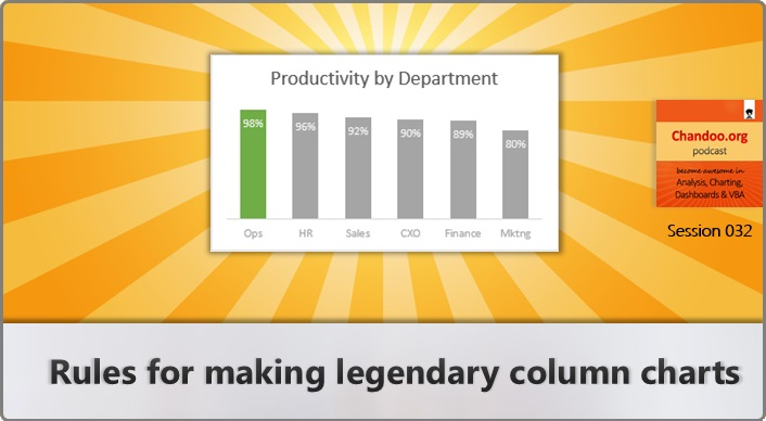 CP032: Rules for making legendary column charts