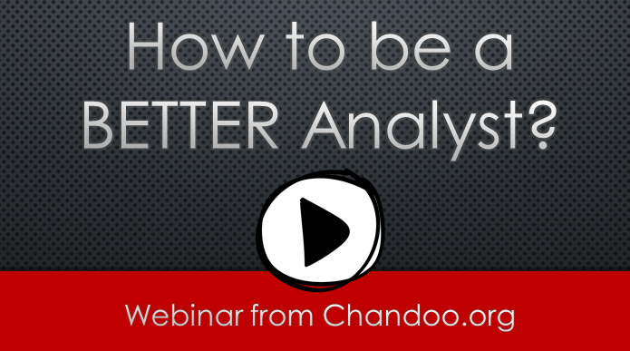 How to be a BETTER Analyst - Webinar Replay