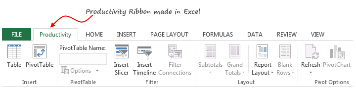 Save time with custom ribbons in Excel [tutorial]