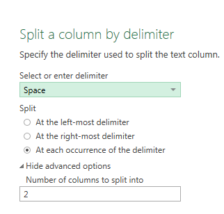 split-column-space-as-delimiter-power-query