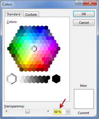fill-color-transparency-settings
