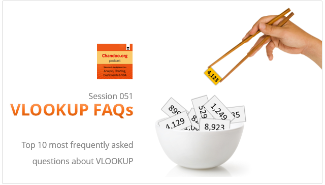 CP051: VLOOKUP FAQs – Most frequently asked questions about VLOOKUP – Answered