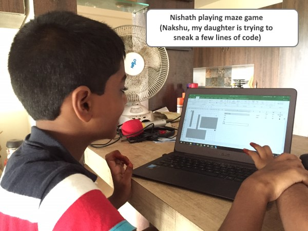 Teach coding to your kids with this maze game [VBA]
