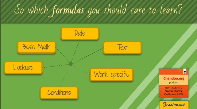 CP056: So which formulas you should care to learn?