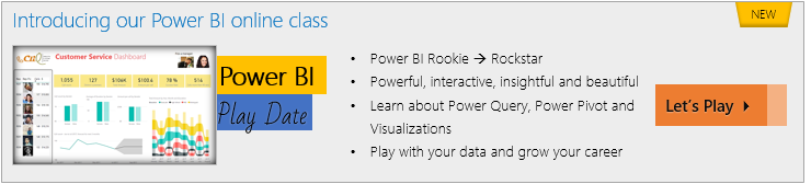 Introducing Online Power BI Training from chandoo.org - check it out today