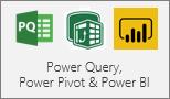 Power Query, Power Pivot and Power BI