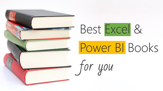 Best Excel Books & Power BI Books – 2018
