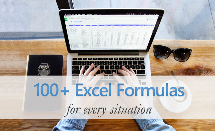 Excel Formula list, examples and how-to - Free Guide