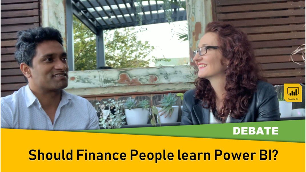 Should finance people learn Power BI?