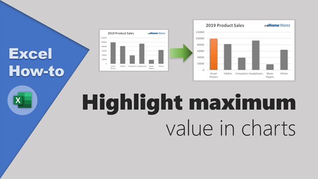 How-to highlight maximum value in Excel charts? [Quick tip]