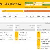 training-calendar-view